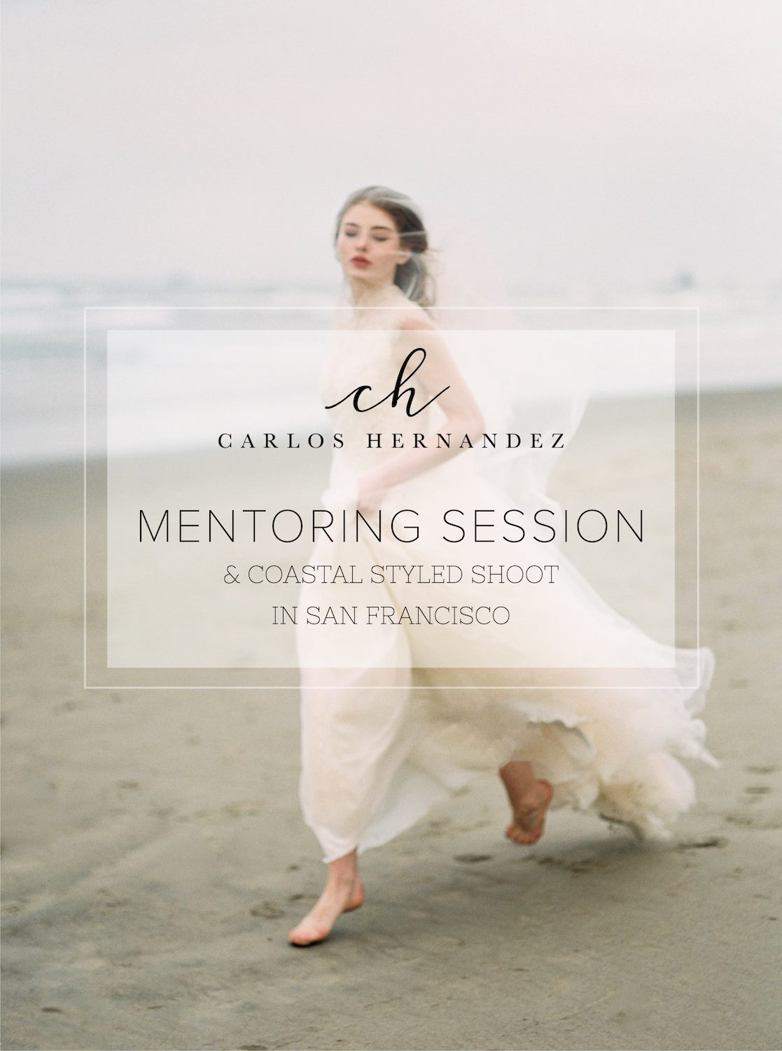 San Francisco California Coastal Styled Shoot Mentor wedding photography film fine art