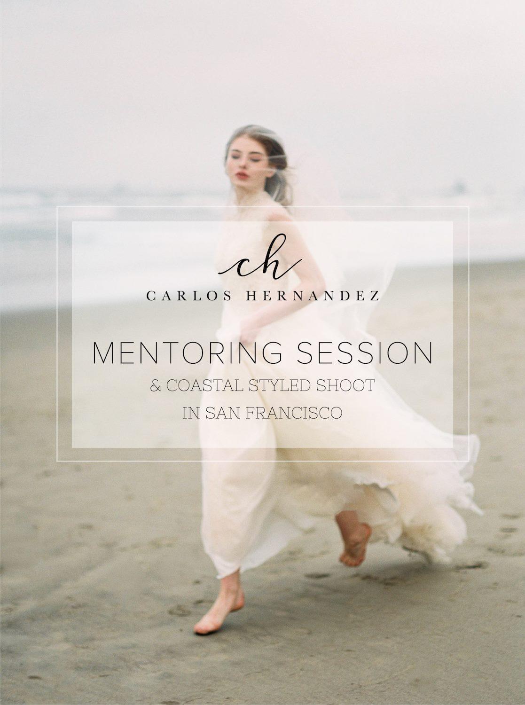San Francisco California Coastal Styled Shoot Mentor wedding photography film fine art