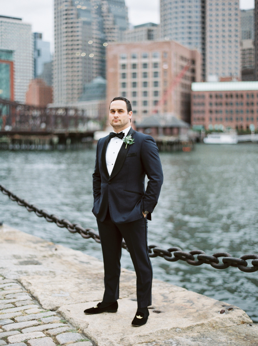 Fine Art Film Wedding Photographer Seaport Hotel Boston MA