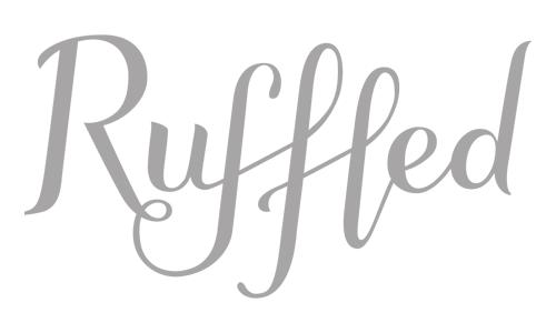 As seen in Ruffled Blog