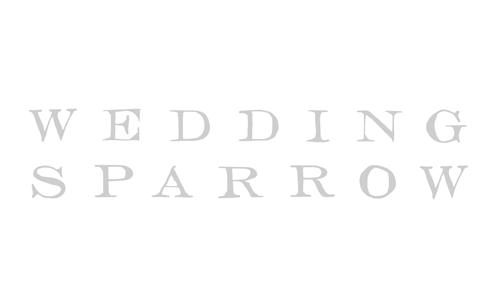 As seen in Wedding Sparrow